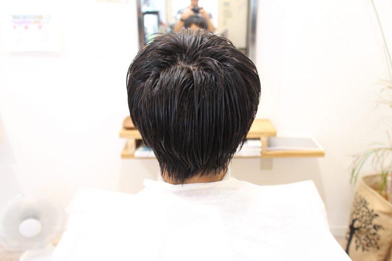 高校生の夏休みヘアー