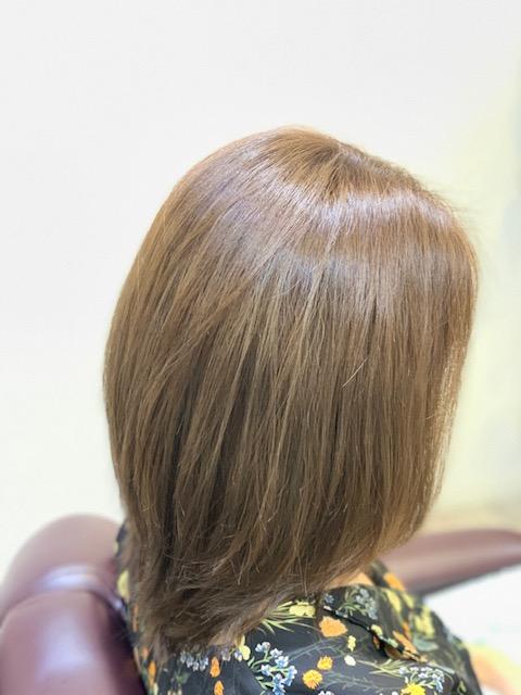 カット+髪質改善カラー