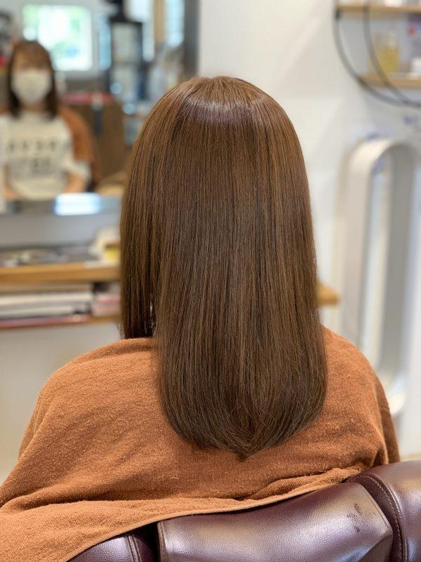 カラー+髪質改善ヘアーエステ